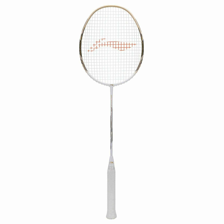 LI-NING Windstorm 700 Special Edition Badminton Racquet (White)