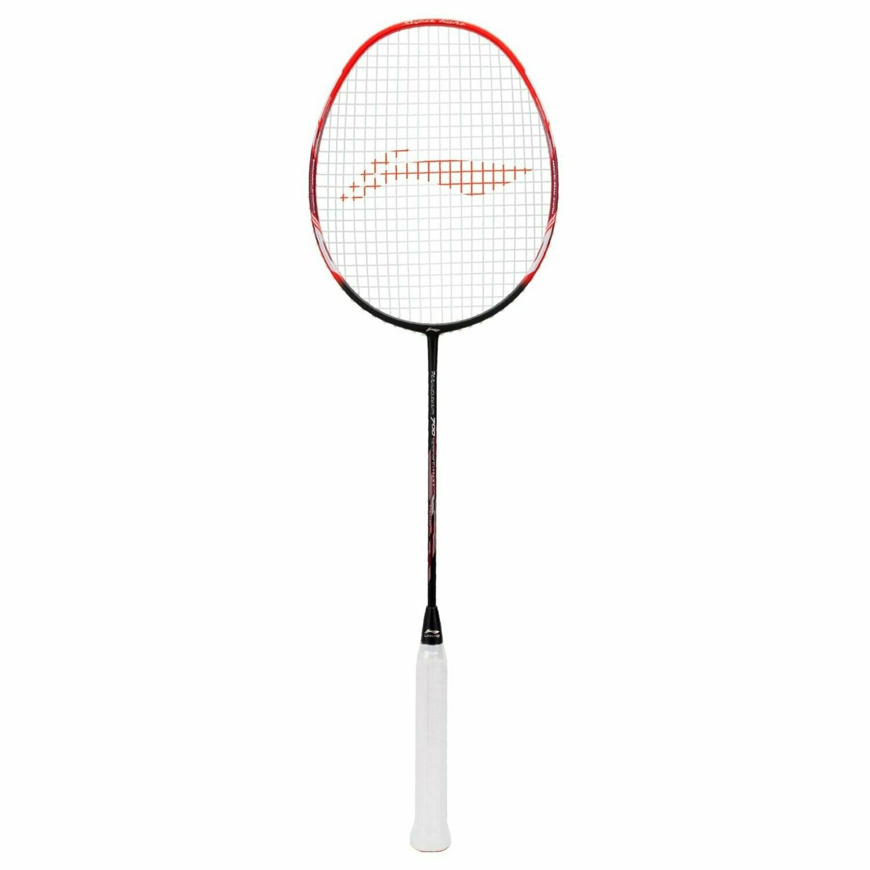 LI-NING Windstorm 700 Special Edition Badminton Racquet (Black/Red)