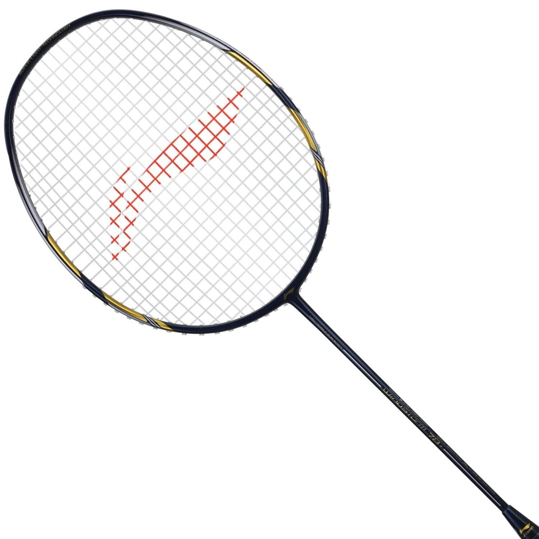 LI-NING Windstorm 78+ Navy Blue Badminton Racquet