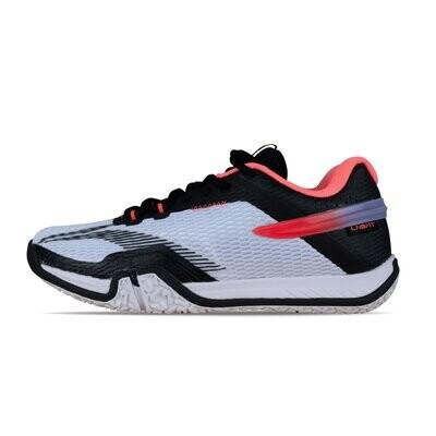 LI-NING Saga Lite 2020 White Non Marking Professional Badminton Shoes- AYTQ025-1