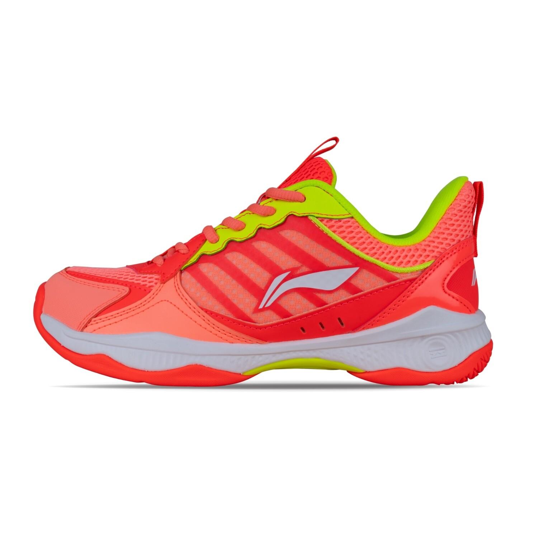 LI-NING Halberd II Lite Orange Non Marking Professional Badminton Shoes- AYTQ028-3S