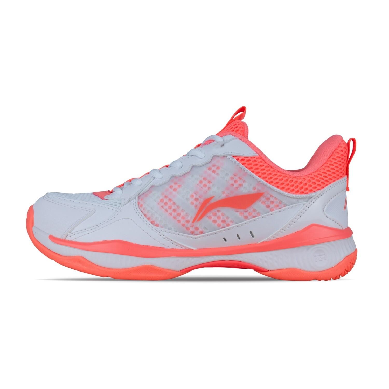 LI-NING Halberd II Lite White Non Marking Professional Badminton Shoes- AYTQ028-1S