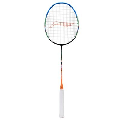 LI-NING WINDSTORM 72 -BLACK/BLUE/ORANGE Badminton Racquet