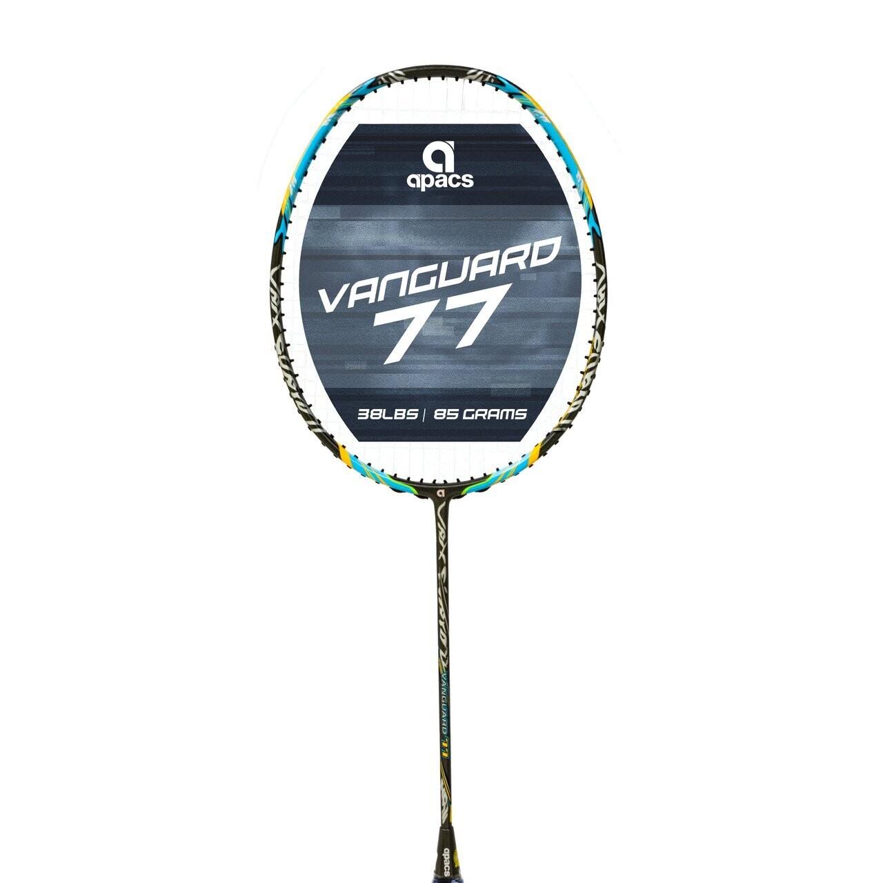 Apacs Vanguard 77 Black Badminton Racket
