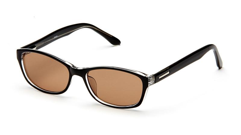 "Очки для водителя ""солнце"" AS055 черно-прозрачный"