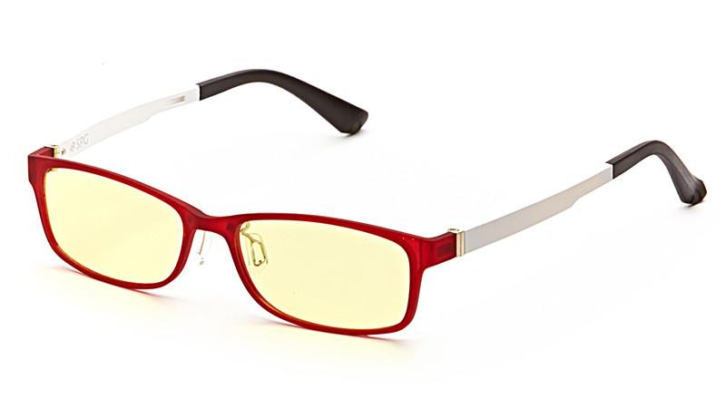 Очки для компьютера AF057 красно-белый