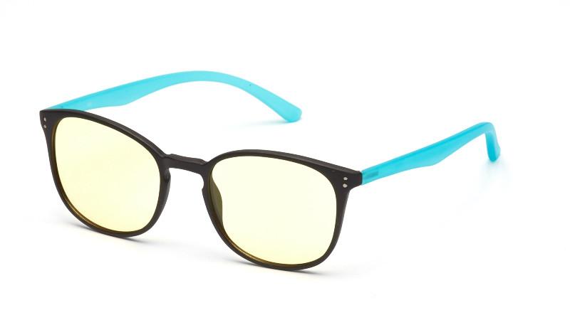 Очки для компьютера AF055 черно-бирюзовый
