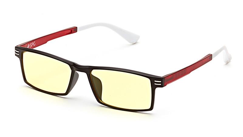 Очки для компьютера AF061 черно-красный