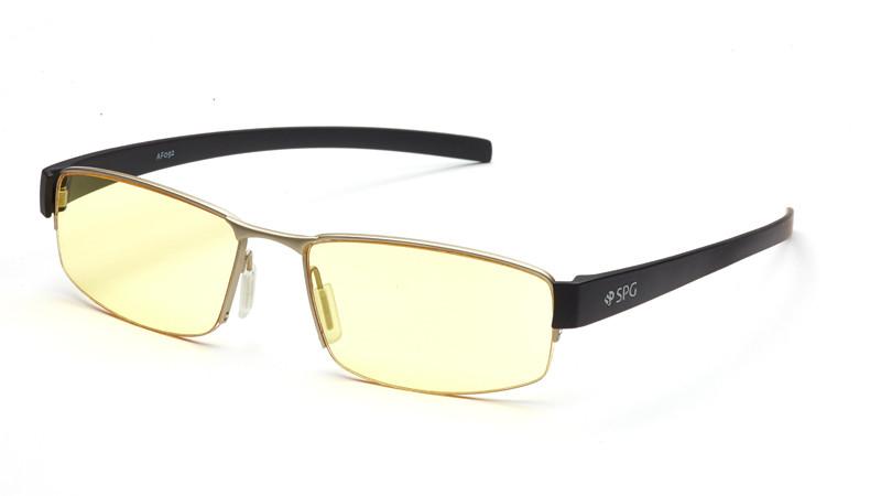 Очки для компьютера AF092 серебристо-черный