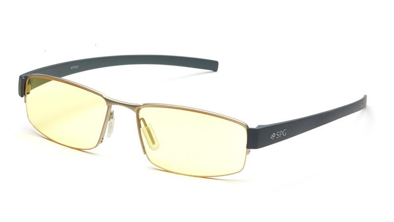 Очки для компьютера AF092 серебристо-серый