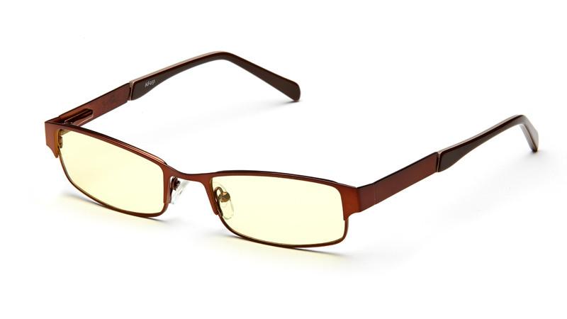 Очки для компьютера AF031 коричневый