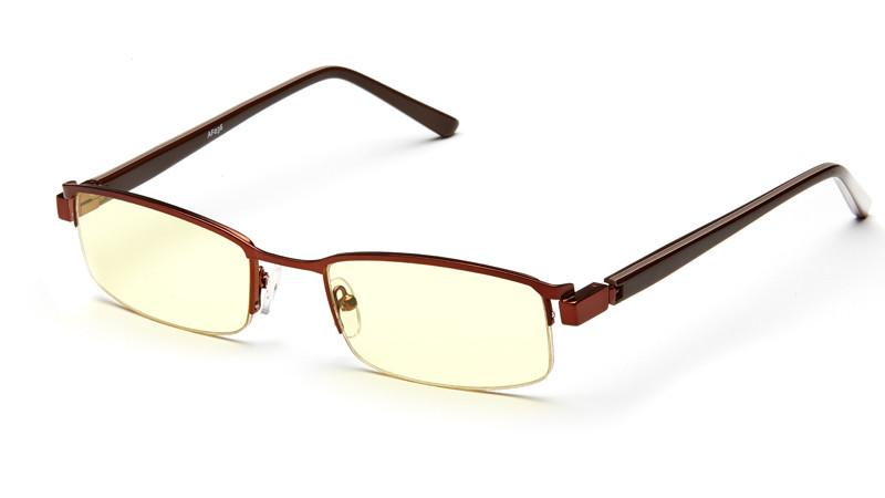 Очки для компьютера AF036 коричневый