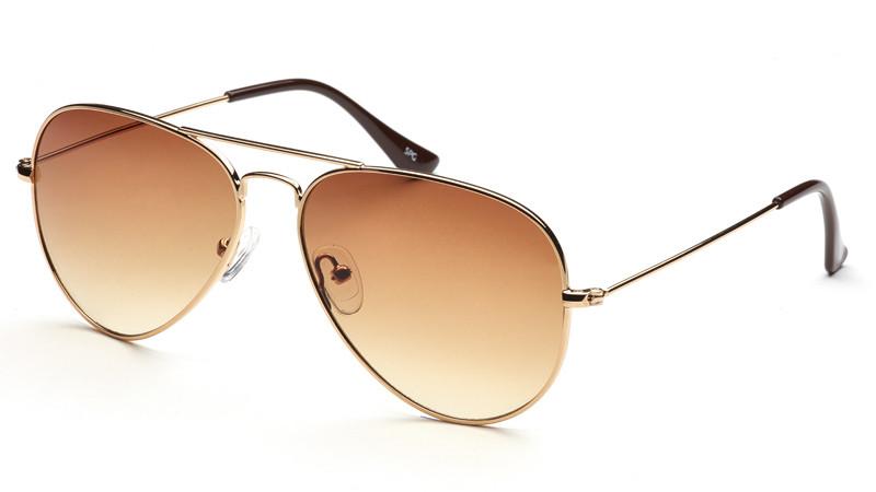 Солнцезащитные очки градиент AS056 золото