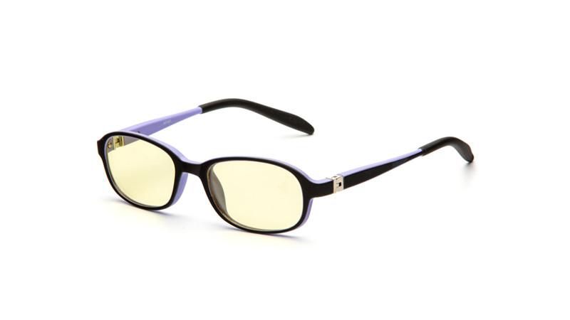 Очки для компьютера детские AF051 черно-фиолетовый