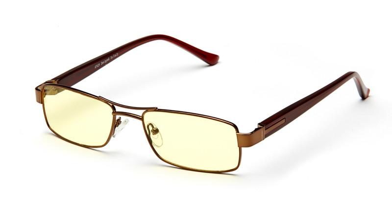 Очки для компьютера AF029 коричневый