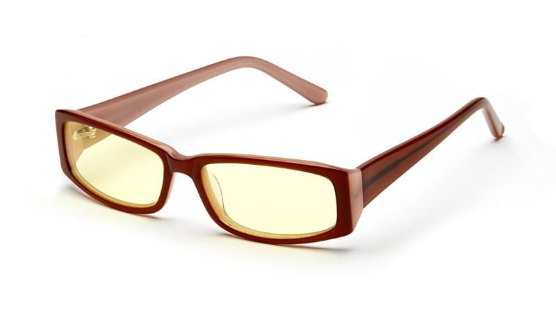 Очки для компьютера AF045 коричнево-бежевый