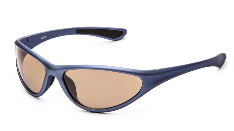 "Очки для активного отдыха ""солнце"" AS025 синий"