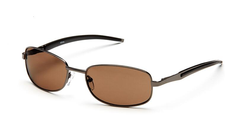 "Очки для водителя ""солнце"" AS014 темно-серый"