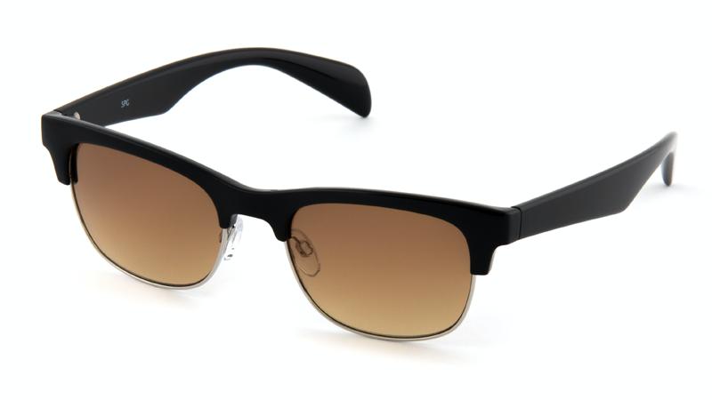 Солнцезащитные очки градиент AS110 черный / серебро
