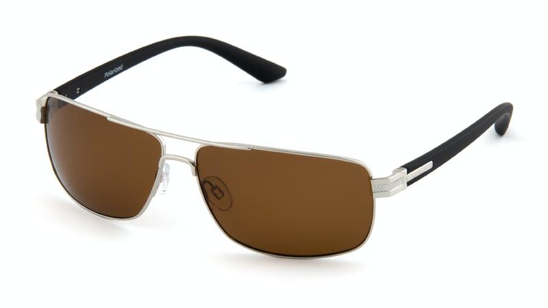 Очки для вождения и рыбалки POLARMASTER, PL02 L1 серебристо-черный