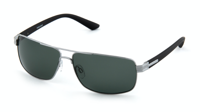Солнцезащитные поляризационные очки POLARMASTER, PL02 L3 серо-черный