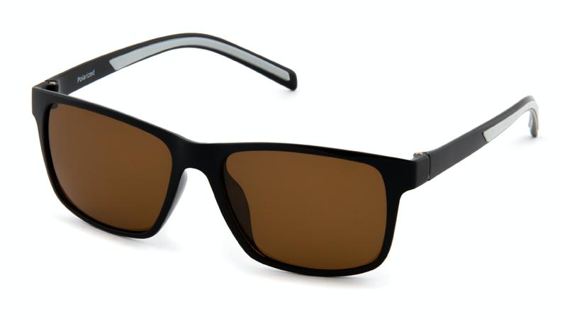 Очки для вождения и рыбалки POLARMASTER, PL04 L1 черно-серый