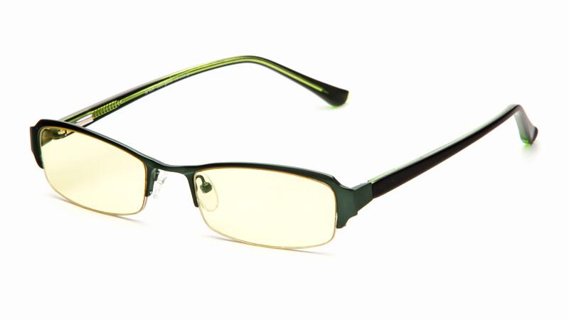 Очки для компьютера AF039 темно-зеленый