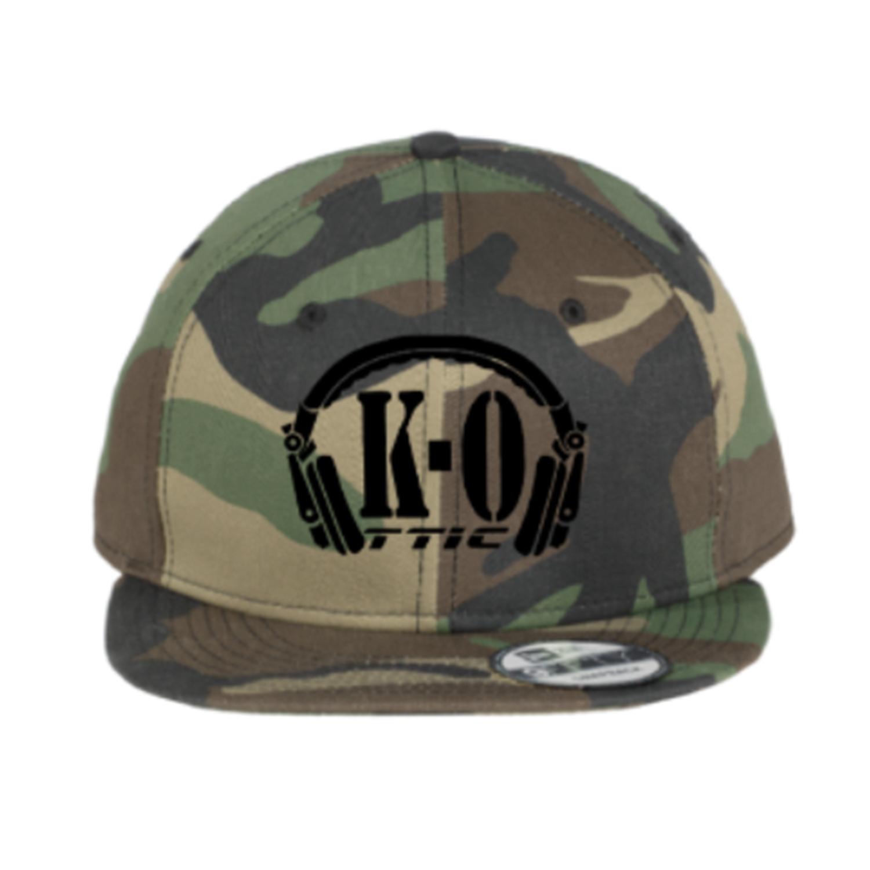 Snap Back Camo Hat