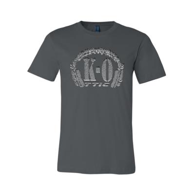 Distorted Logo Grey Shirt