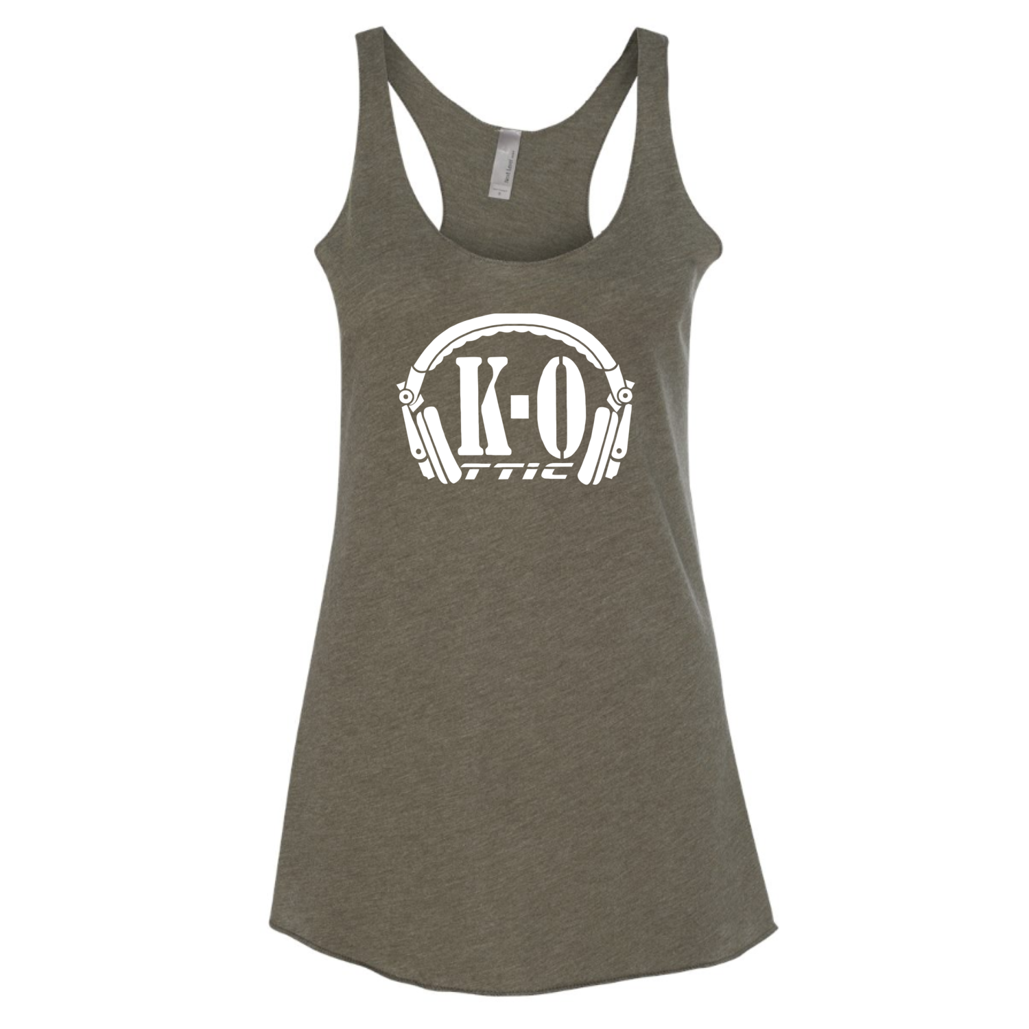 Women's Army Green Tank