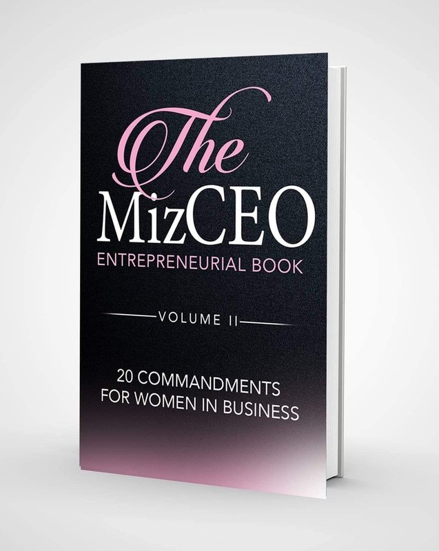 The Miz CEO Entrepreneurial Book -Volume II