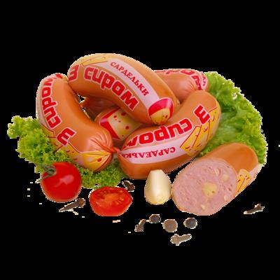 Сардельки з сиром (500 г)