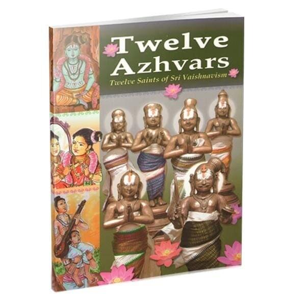 Printed Book - 12 Azhvars , English