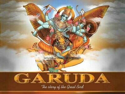 Garuda the celestial Bird