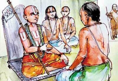 Yathindra Matha Deepikai simplified meaning - யதீந்த்ர மத தீபிகை எளிய தமிழ் உரை