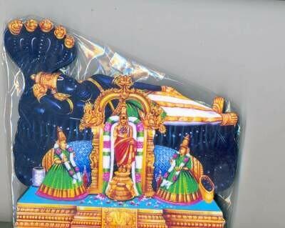 Lord Ranganatha cutout