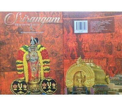 Print book , Srirangam - Heaven on Earth, in English