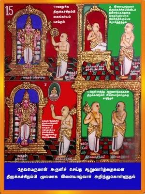 Ramanusar 1000 - Book II Table of Contents, E Book :  ராமானுசர் 1000 - 2 , பொருளடக்கம் மின்னூல்
