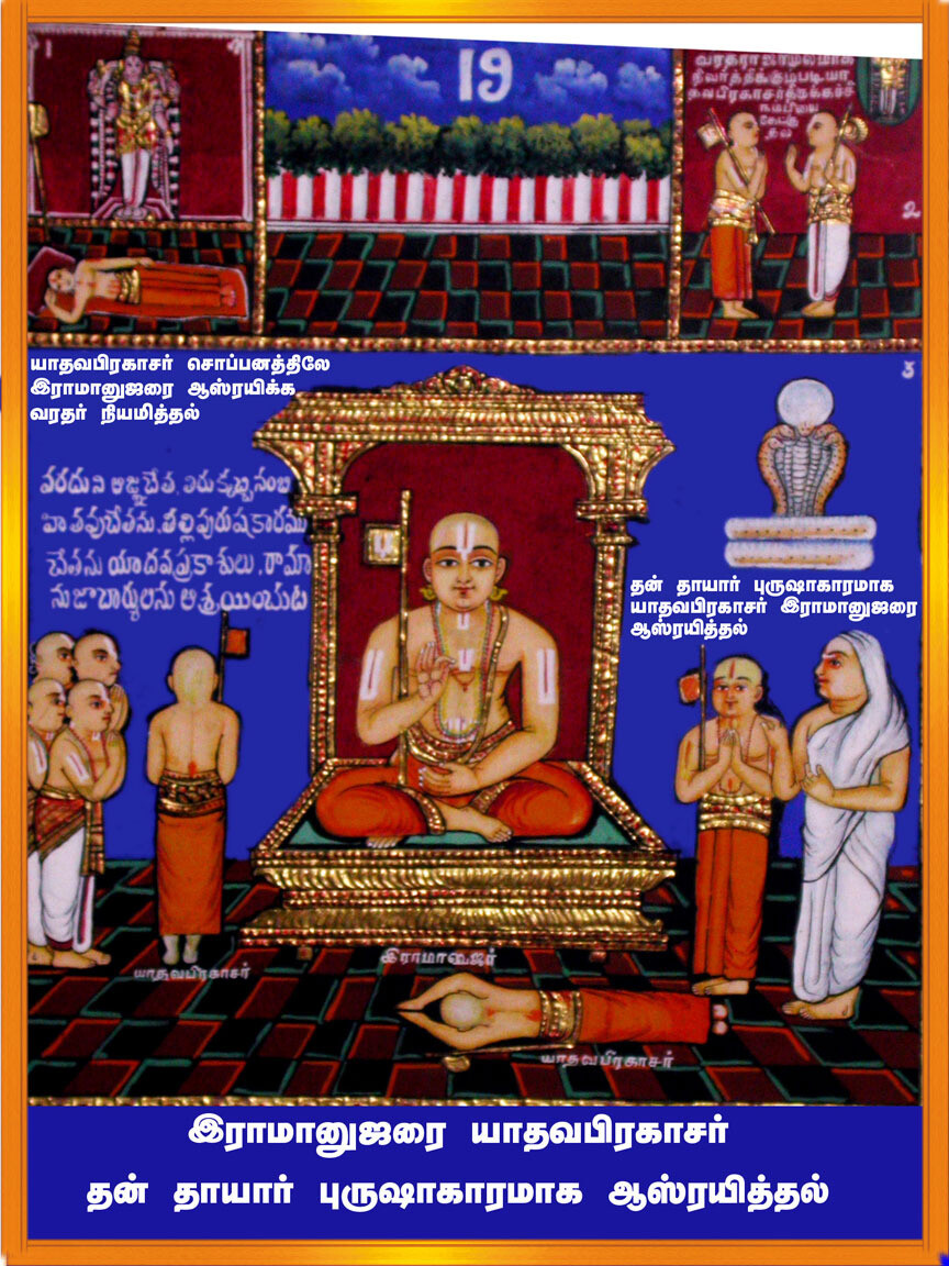 E-Book, Ramanusar 1000 Book III - Vedanta saram Mulam plus urai Table of contents; வேதாந்த ஸாரம் மூலமும் உரையும் பொருளடக்கம் , மின்னூல்