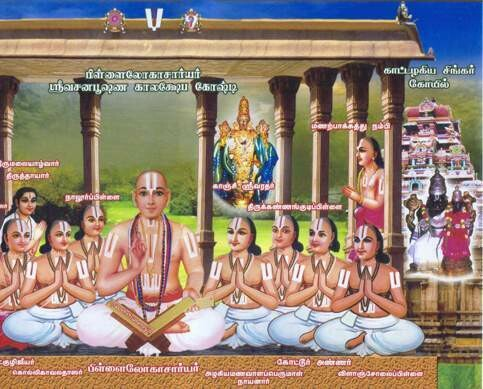 Ashtadasa Rahasyam ( 18 Rahasyas), A4 size E-Book by Pillailokacharyar ; பிள்ளைலோகாசார்யர் இயற்றிய அஷ்டாதச ரஹஸ்யம் - மூலம் தமிழில்,A4 மின்னூல்