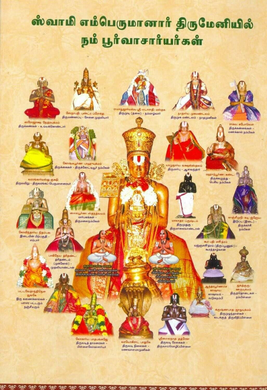 Print Book Sri Vaishnava Guruparamparai / Guru Paramparai ;  ஸ்ரீ வைஷ்ணவ குருபரம்பரை