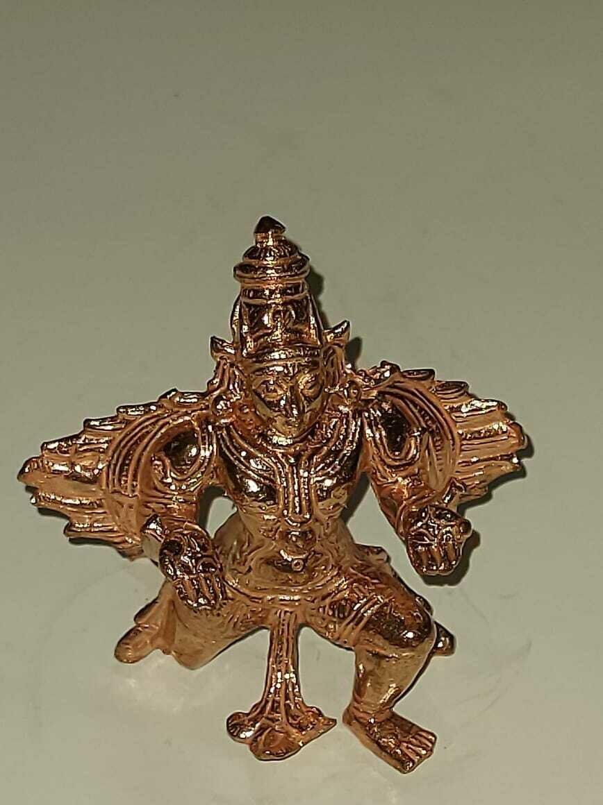 Nachiyar Koil Kal Garudan replica copper