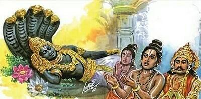 Photocopy - Thiruchandhavirutham , திருச்சந்தவிருத்தம், பெரியவாச்சான் பிள்ளை வ்யாக்யானம் , நகல் பிரதி