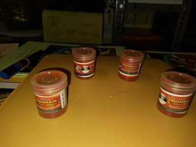 Ayodhya Sree Churnam Powder form - 100 gms  ( 4 x 25 gm PVC containers ) ;  அயோத்யா ஸ்ரீசூர்ணம் தூள்- 100 கிராம் ( 4 x 25 கிராம் ப்ளாஸ்டிக் டப்பாக்களில் )