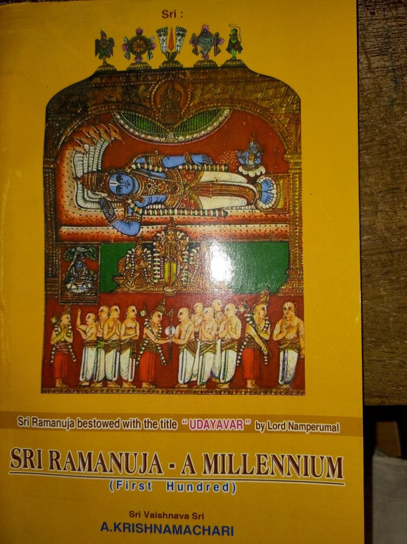 Sri Ramanuja ,a millennium