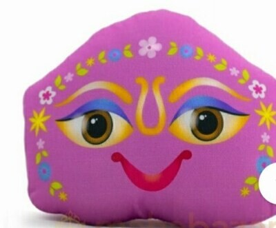 Pink Shalagram - Soft Toy from Vrindavan