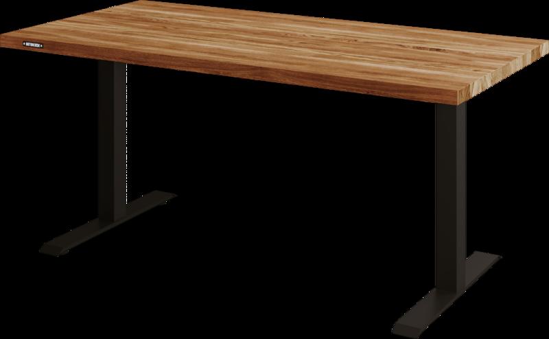 Biurko Klasyczne z blatem z litego dębu