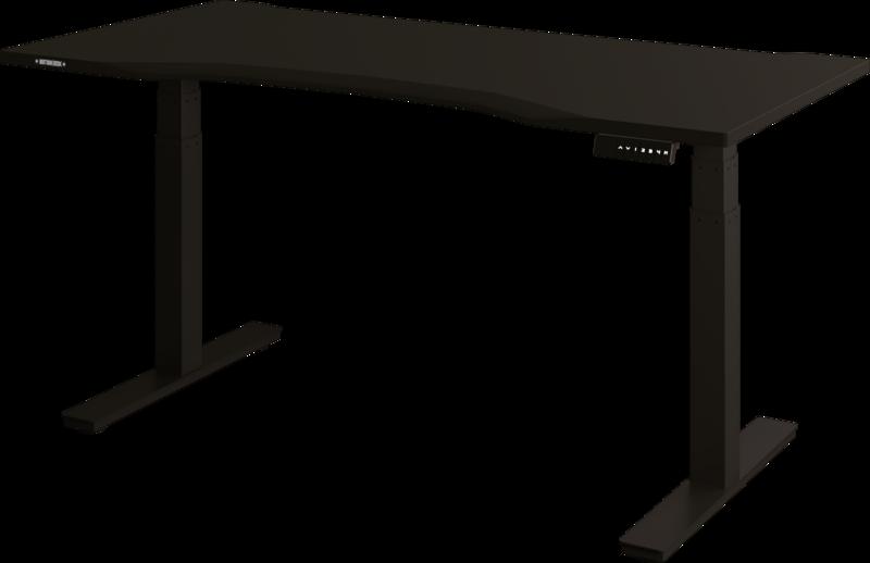 Biurko Elektryczne z blatem gamingowym