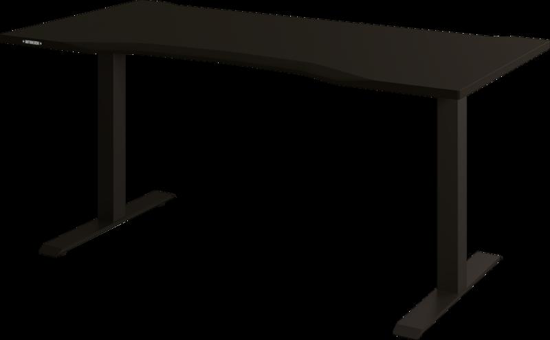 Biurko Klasyczne z blatem gamingowym