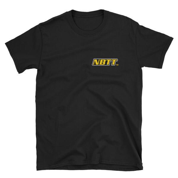 No Buff Too Tuff - Front & Back | Short-Sleeve Unisex T-Shirt